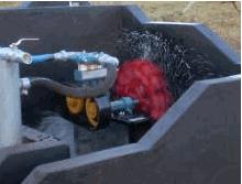 Turbo Roda Betta capacidade de bombeamento varia
