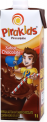 Pirakids UHT Sabor Chocolate 1l