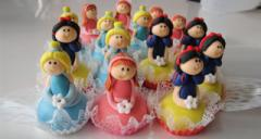 Doces Decorados Princesas