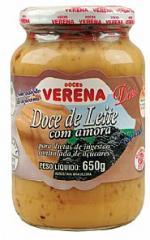 Doce de Leite com Amora diet em pasta 650g