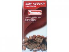 Chocolate ao leite com Avelãs