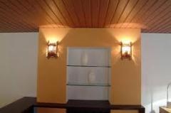 Alizares, guarnições de madeira para portas e