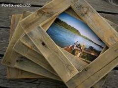Artigos decorativos de madeira