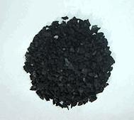 Carvão ativado granulado - é produzido a partir de