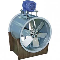 Exaustor Axial c/ Transmissão Indireta
