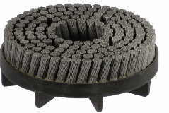 Escovas TBK - filamentos de Nylon com carboneto de silício.