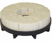 Escovas HDGK - filamentos de nylon com cerâmica.