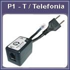 Protetor de telefonia P1-T