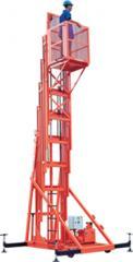 Elevador de Manutenção com torre telescópia