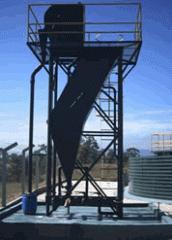 Filtro rotativo - remoção de sólidos grosseiros