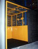 Elevador Plataforma fechada de cargas