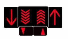Setas Direcionais