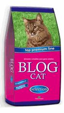 Blog Cat - um novo alimento premium para seu gato, formulado com matérias primas selecionadas e produzido sob rígido controle de qualidade.