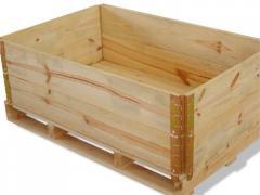 Embalagens de Madeira para Médio e Pequeno Porte