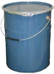 Balde de aço tampa removível : 15 à 25 litros