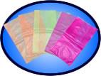 Sacos plásticos em polietileno diversas cores
