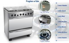 Fogões a gás para uso doméstico