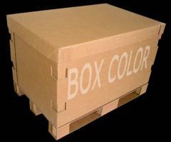 Caixas Containeres de Papelão Ondulado