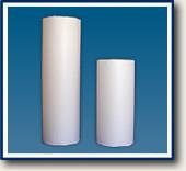 Bobina de papel monolúcido branco sem impressão