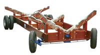 Carretas para embarcações de até 6 toneladas