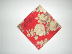 Guardanapo simples Paris vermelho