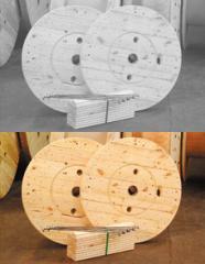 Monte seu kit de bobinas de madeira quando