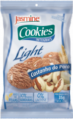 Cookies Integrais Light Castanha do Pará