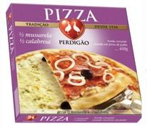 Pizza Mussarela e Calabresa