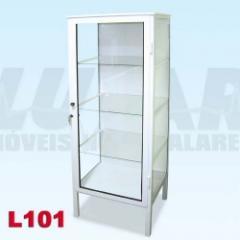 Armário vitrine 1 porta