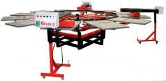 Carrossel semi-automatico full print