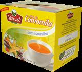 Cha Camomila com Baunilha