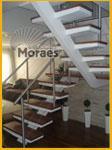 Escada com viga central