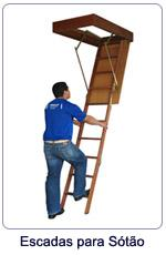 Escada Retrátil para Sótão