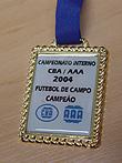 Medalha Resinada 50 x 60mm personalizada