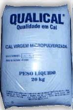 Cal Virgem Calcítica Micropulverizada