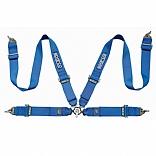 Cinto de Segurança 4 Pontos Azul Royal