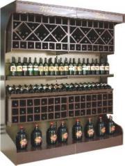 Gôndola para vinhos