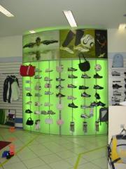 Expositor calçados