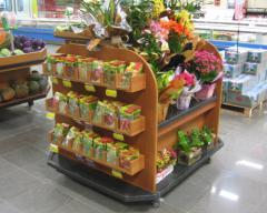 Expositores para Flores Sementes