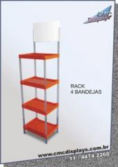Rack 4 bandejas