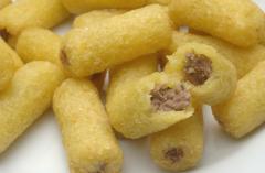 Croquete de Mandioca com Carne Seca