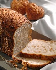 Mistura para preparo de pão de soja