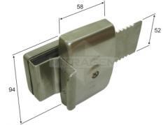 Fechadura de segurança para porta de CORRER