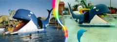 Escorregador Baleia Gigante