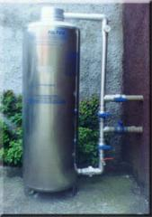 Filtros a agua industriais