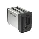 Torradeira Inox Preta MX-T003S Myralux