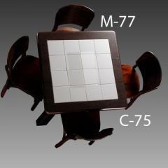 Mesas c/ Logo M-77_C-75_SL