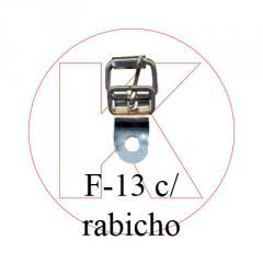 Fivela de rolete - F-13 c/ rabicho