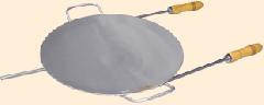 Disco lixado com cabo para churrasqueira