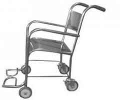 Cadeiras de rodas de aço